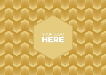Free Vector Gold Chevron Logo Background - Kostenloses vector #375113