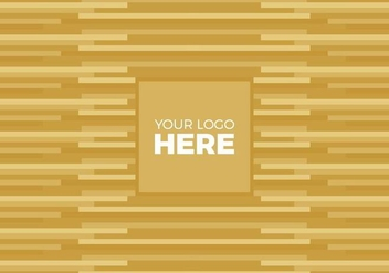 Free Vector Gold Logo Background - Free vector #375203