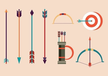 Free Archery Vector Illustrations - vector gratuit #375233