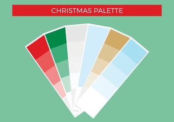 Free Christmas Vector Palette - Kostenloses vector #375263