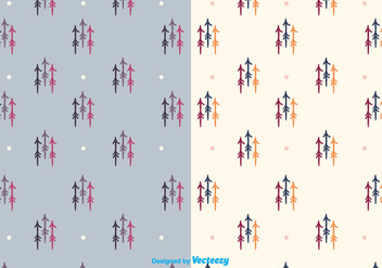 Hand Drawn Arrow Pattern - Free vector #375353