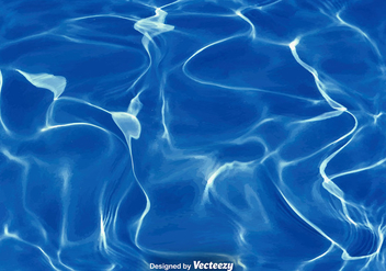 Vector Realistic Texture Of Water - vector gratuit #375613