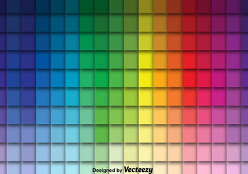 Cool Vector Color Swatches - бесплатный vector #375713
