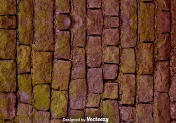 Vector Realistic Stone Wall Texture - Free vector #375723
