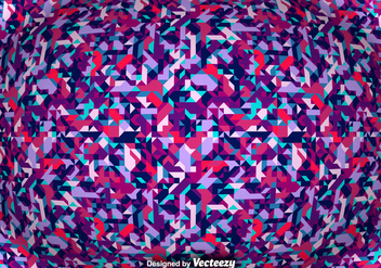Vector Abstract Background With Geometric Shapes - Kostenloses vector #375753