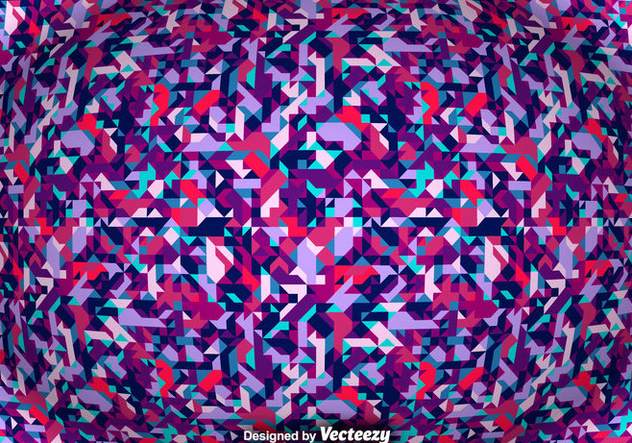Vector Abstract Background With Geometric Shapes - Free vector #375753