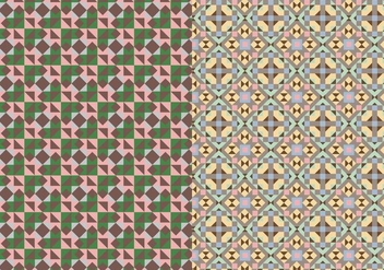 Mosaic Abstract Pattern - Free vector #376013