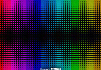 Abstract Halftone Background - Vector Background - Kostenloses vector #376153