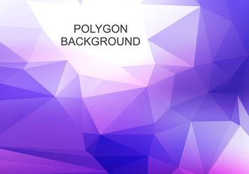 Free Vector Abstract Polygon Background - Kostenloses vector #376233