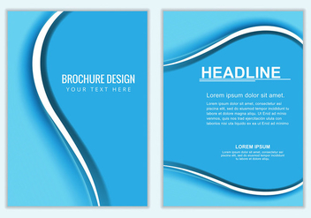 Free Vector Business Brochure - бесплатный vector #376243