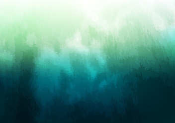 Free Vector Green Watercolor Background - бесплатный vector #376253