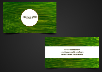 Free Vector Visiting Card Background - Kostenloses vector #376273