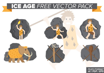 Ice Age Free Vector Pack - vector gratuit #376503
