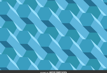Polygonal 3D background - Kostenloses vector #376553