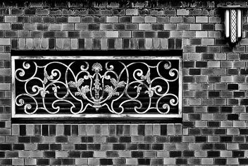 Iron Work Vent and Bricks - image gratuit #376713