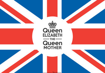 Free Queen Elizabeth The Queen Mother - vector gratuit #377343