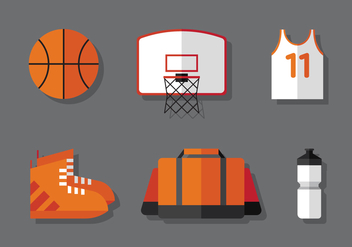 Vector Basketball - vector gratuit #377353