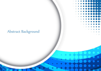 Free Vector Blue Wavy Background - бесплатный vector #377413