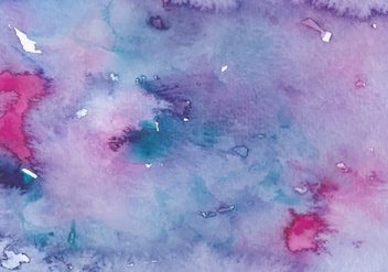 Pink Violet Free Vector Watercolor Texture - vector #377623 gratis