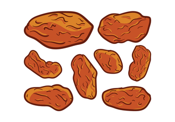 Free Raisins Vector - бесплатный vector #377633