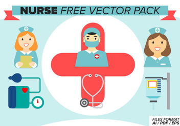 Nurse Free Vector Pack - бесплатный vector #377773