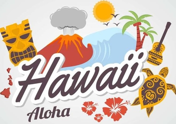 Free Hawaii Vector - Free vector #377803