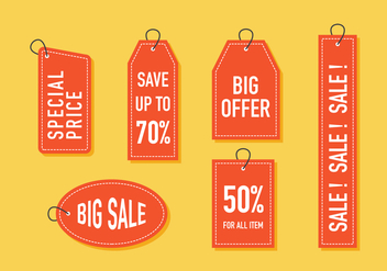 Vector Sale Tag - Free vector #378093
