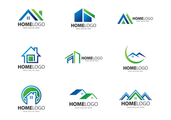 Free Home Logo Vectors - бесплатный vector #378103