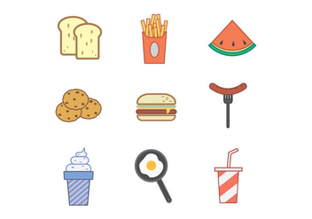Free Kids Menu Vector - Free vector #378203