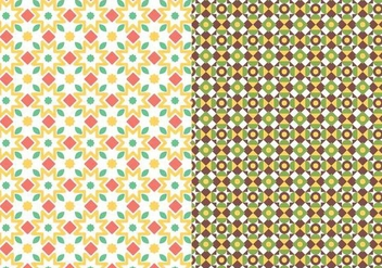 Abstract Motif Pattern - Free vector #378353