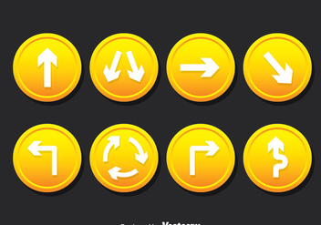 Road Signs Vector Set - vector #378653 gratis