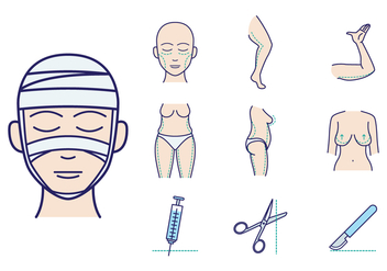 Free Plastic Surgery Vector - бесплатный vector #378673