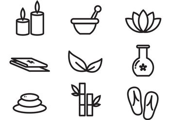 Free Spa Vector Icon - vector #378903 gratis