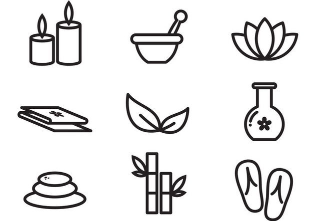 Free Spa Vector Icon - Free vector #378903