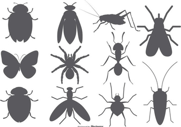 Insect Vector Shapes - бесплатный vector #378953