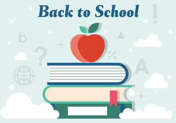 Free Back to School Vector Illustration - бесплатный vector #379153