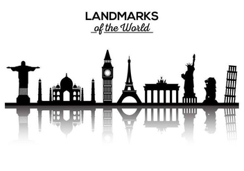 Free Landmarks of the World Vector - бесплатный vector #379713