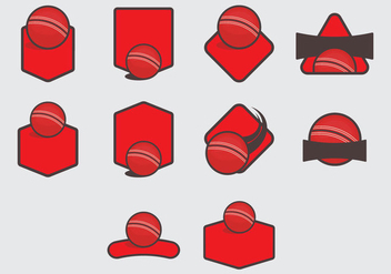 Dodge Ball Template Icon Set - vector gratuit #379793