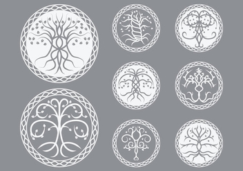 Free Celtic Tree Vector - Free vector #380183