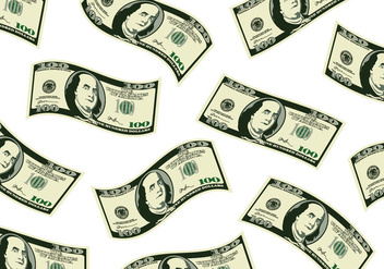 Scattered 100 Dollars - Free vector #380203
