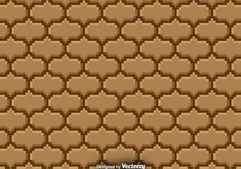 Pixelated Seamless Pattern - Vector background - Kostenloses vector #380243