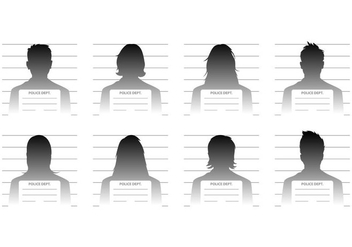 Free Mugshot Template Vector - Kostenloses vector #381213