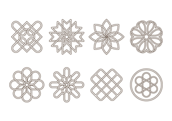 Free Celtic Ornament Vector - Free vector #381293