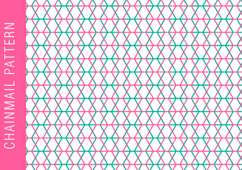 Chainmail Background Pattern - Free vector #381423