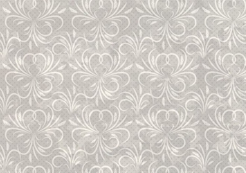 Dotted Vector Western Flourish Seamless Pattern - vector gratuit #382003