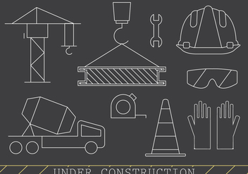 Free Construction Icons - vector gratuit #382033
