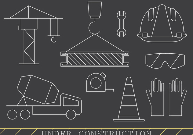 Free Construction Icons - Kostenloses vector #382033