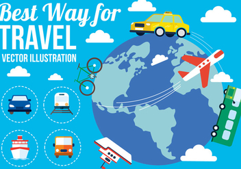 Free Vector Travel - бесплатный vector #382363