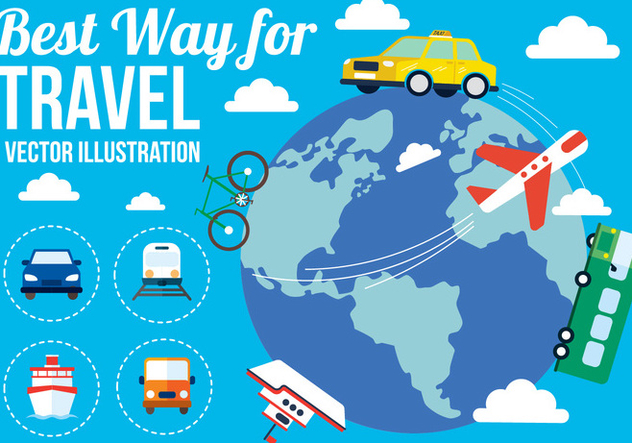 Free Vector Travel - Kostenloses vector #382363