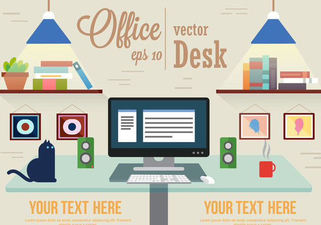 Free Designer Office Vector - Free vector #382503